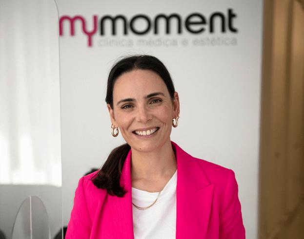 Cátia Dias na Mymoment; Mastopexia